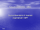 COURS VHF GMDSS